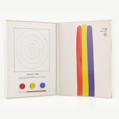Jasper Johns, 'Technics and Creativity, Target', 1970-71