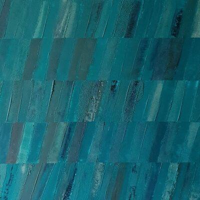 "Stéphanie MENARD, '""Monochrome Blue 2""', 2018"