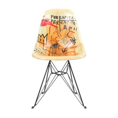Jean-Michel Basquiat, 'Case Study Furniture® Chair (Per Capita)', 2016-2019
