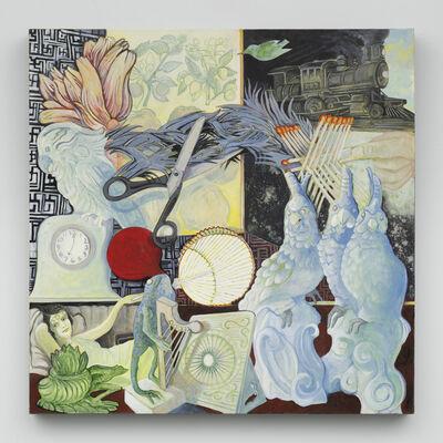 Ellen Lanyon, 'Fast Train to Exotic', 2010