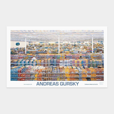 Andreas Gursky, '99 cent store poster', 1999
