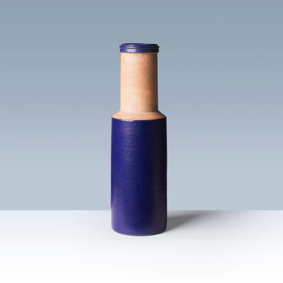 Nils Kähler, 'Partially glazed stoneware vase', 1960-1970