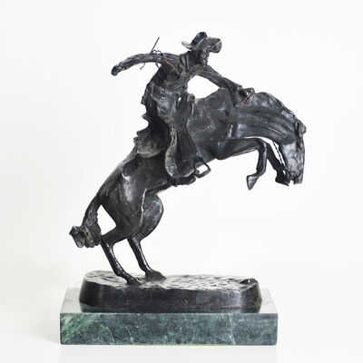 Frederic Remington, 'Bronze Buster'