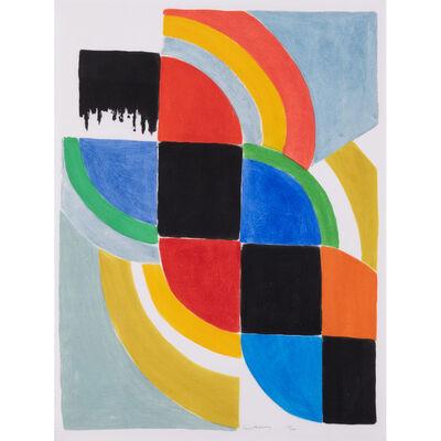 Sonia Delaunay, 'Tresse', circa 1975