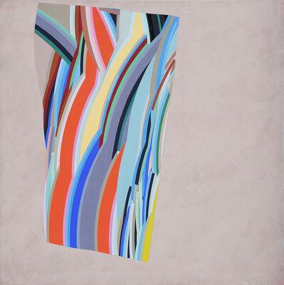 Alun Leach-Jones, 'Red and Cream to Green', 1976