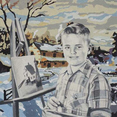 Martin Mull, 'self-portrait ', 2015
