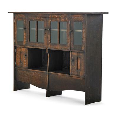 Harvey Ellis, 'Important Bookcase/Cabinet, Possibly Unique, Eastwood, NY', ca. 1903