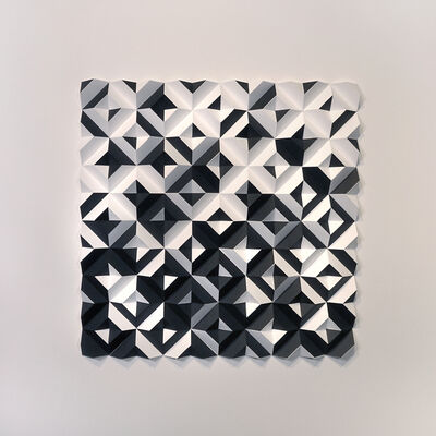 Matt Shlian, 'Ara 446 Some Caterpillars Are Black and White', 2018