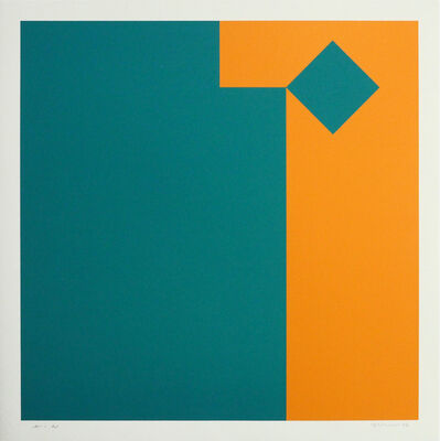 Camille Graeser, 'Geometrische Komposition', 1978