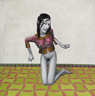 Gino Rubert, 'Girls games II', 2007
