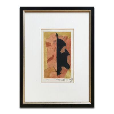 Serge Poliakoff, 'Composition Orange, Rouge et Noire', 1957