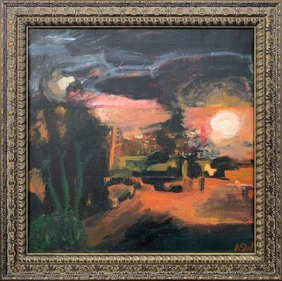 Angela Wakefield, ''Accrington #1' Seminal Abstract Landscape', 1999