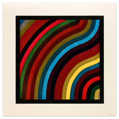 Sol LeWitt, 'Curved Bands', 1996