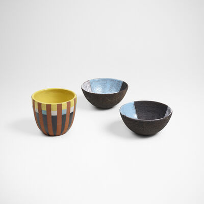Bitossi, 'collection of three vessels', c. 1955