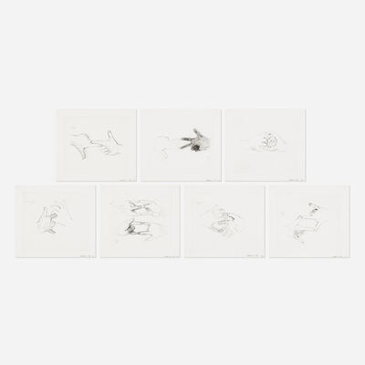 Bruce Nauman, 'Fingers and Holes (seven works)', 1994