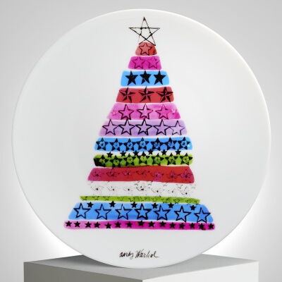 Andy Warhol, 'Christmas Tree Plate by Andy Warhol', 2017