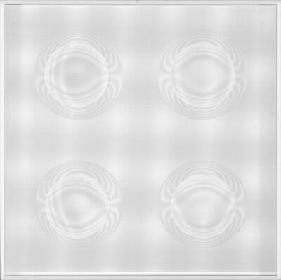 Hector Ramirez, '4 Esferas Estelares (Blanco)', 2015