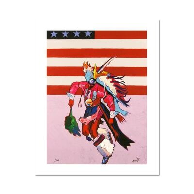 John Nieto, 'Fancy Dancer with Flag', 1990-2020