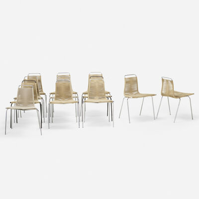Poul Kjærholm, 'PK 1 chairs, set of twelve'