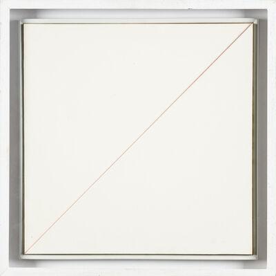 Sandro de Alexandris, 'Rosso diagonale', 1969
