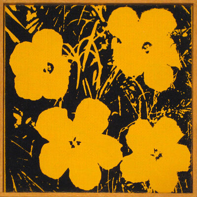 Richard Pettibone, 'Warhol Flowers 1964', 1970
