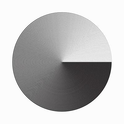 Marina Apollonio, 'Fusione Circolare', 2016