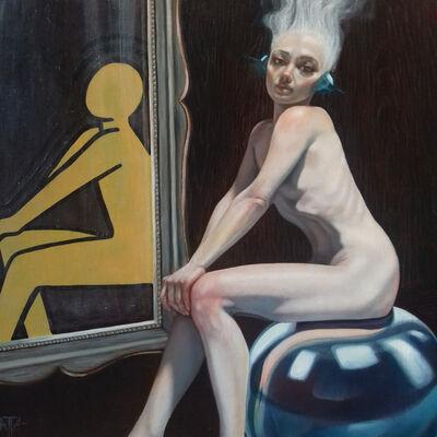 Darek Blatta, 'Das Model (Keith Harin 1958-1990)', 2020