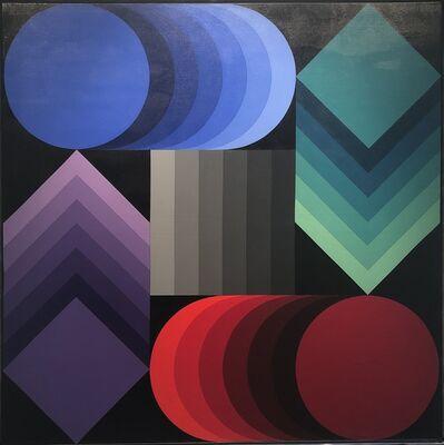 Victor Vasarely, 'Stri Dio Nr. P. 873', 1970