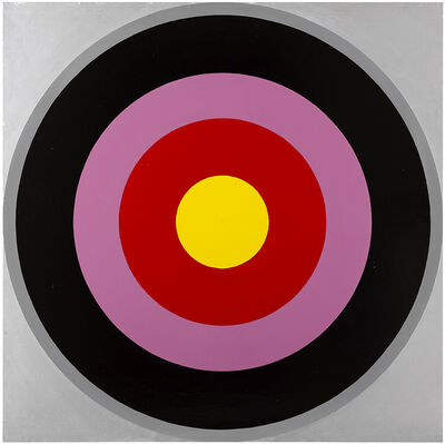 Poul Gernes, 'Untitled (Target Painting)', 1966-1969