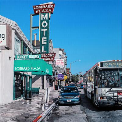 Bertrand Meniel, 'Lombard Plaza Motel', 2020