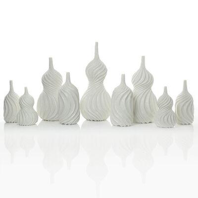 Andrew Wicks, 'A Garniture of Nine Spiral Vases', 2019