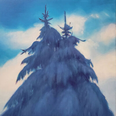 Jim Schantz, 'Winter Pine Couple', 2020