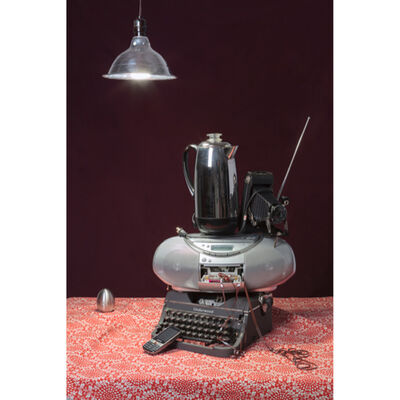 Jeanette May, 'Tech Vanitas - Gray Typewriter', 2015