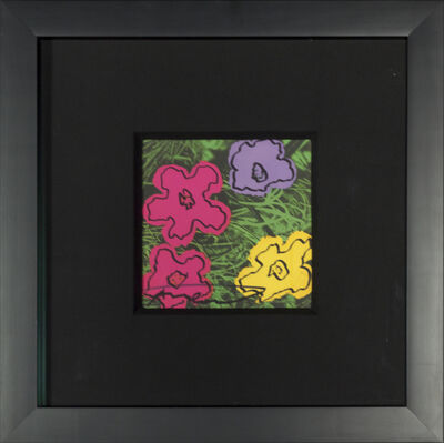 Andy Warhol, 'Flowers Invitation ', 1972