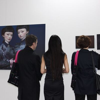 Galeria Isabel Croxatto at Art Central 2015, installation view