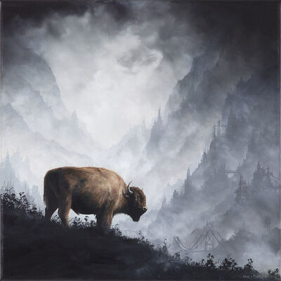 Brian Mashburn, 'Bison', 2017