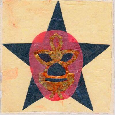 Victoria Behm, 'La Luchera, Black/Yellow', ca. 2012