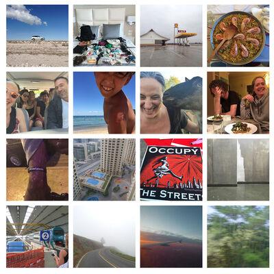 Tanja Hollander, 'Grid of 16 Snapshots', 2011-2016