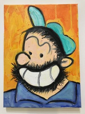 Erik Hanson, 'Another Bluto', 2017