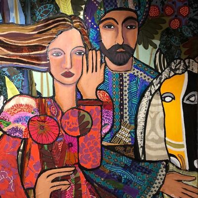 Nevine Mattar, 'Antar and Abla, A Love Poem', 2019