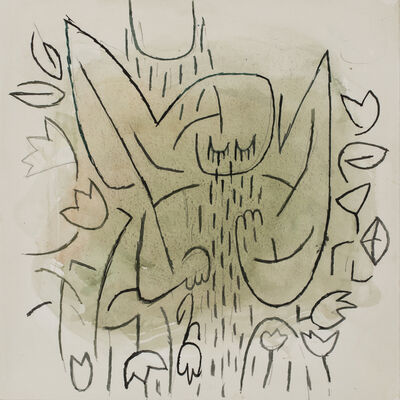 Sanda Iliescu, 'Angel in a Garden', 2019