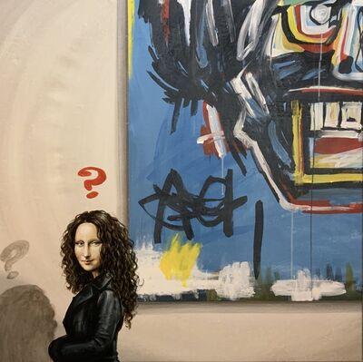Marchesini, '(ATH) La Gioconda e Basquiat', 2019