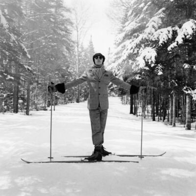 Rodney Smith, 'Reed on Skis, Lake Placid, NY', 2008