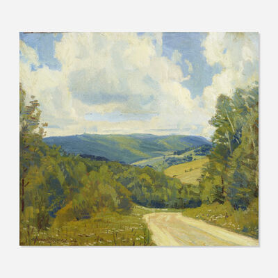 Robert Owen (b. 1930), 'The South Hills, Hancock, Mass Road'