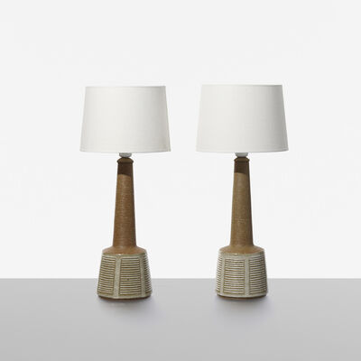 Esben Klint, 'Table Lamps, Pair', c. 1965