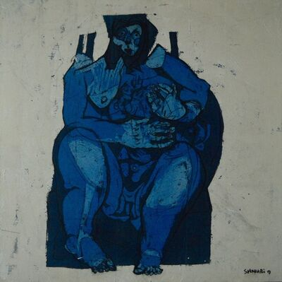 Alaa Sharabi, 'Blue Mother', 2019
