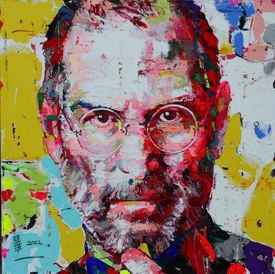Ren Zhenyu, 'Steve Jobs - 你是我的想象10', 2012