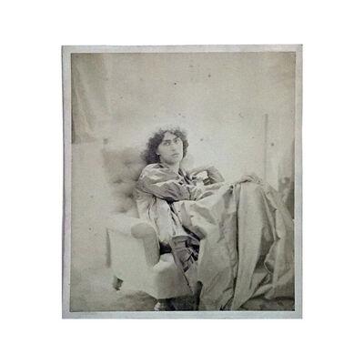 John Robert Parsons, 'Jane (Burden) Morris [1839–1914]', Summer-1865