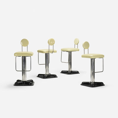 Joe Colombo, 'Birillo stools, four', 1970