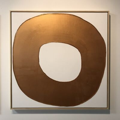 Ted Collier, 'Drip Circle Series 4, Rose Gold ', 2019